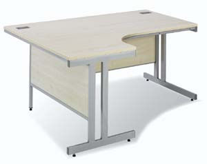 Design 2000 desk in maple