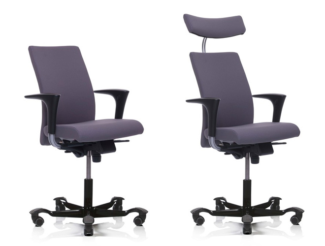 HAG H04 office chair options