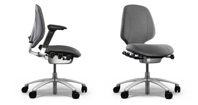 RH Mereo 200 office chair side and front