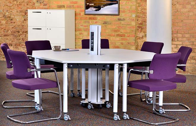 Panache purple meeting chairs