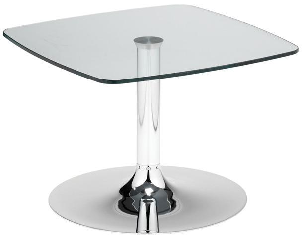 Square Glass Venalo Coffee Table 600 x 600 x 400 £333