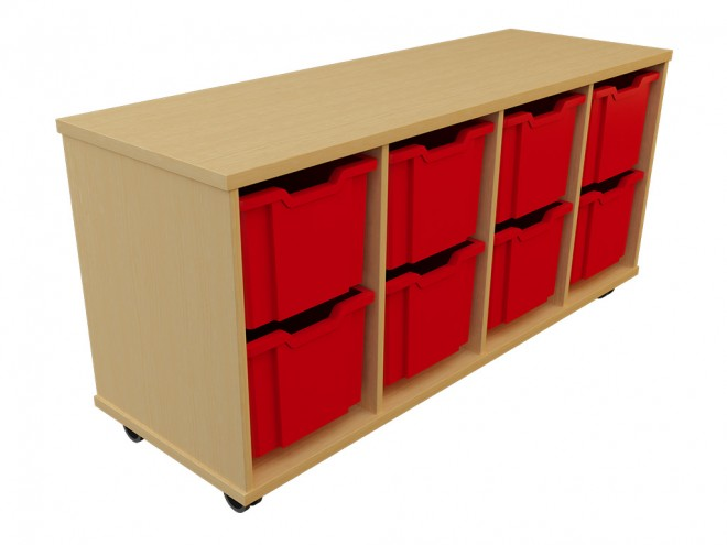 large 8 tray unit 1384 x 472 x 637 £341