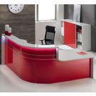 Gloss reception unit red