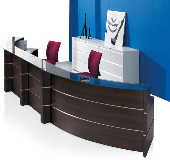 Link reception units wood