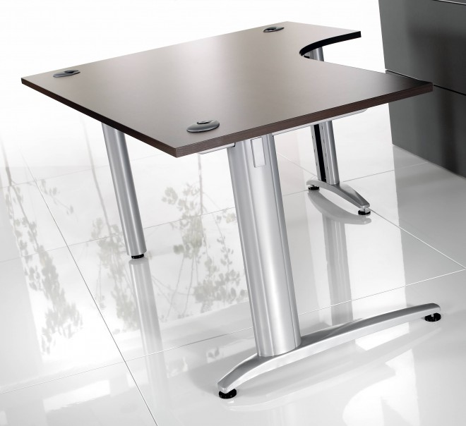 As shown 1600mm top Right Hand Modena desk