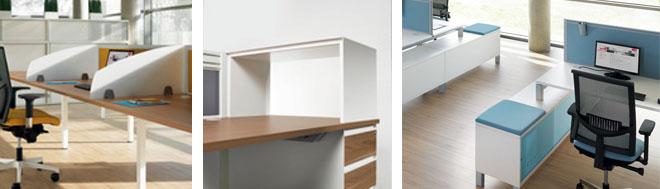 4most desk storage options