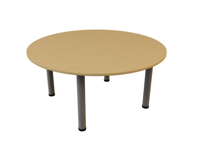 As shown Circular meeting  table 1600mm wide x 740mm tall