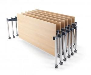 nesting folding table