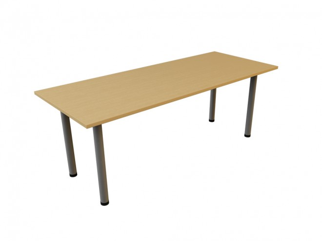 Standard table as shown as 2000mm x 800mm deep